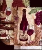Grape Kitchen Decor Accessories Grape kitchen decor theme ceramics wine grape Tuscan 48