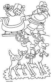 De 200 Beste Afbeelding Van Kleurplaat Kerstman En Rendieren