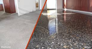 Before / After Polished Concrete