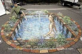 Christmas Recipes Sidewalk Illusion Art Pictures 3d