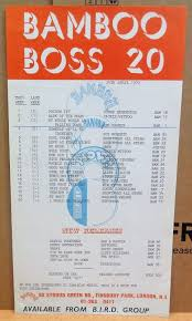 Reggae Record Chart Posters