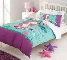 brilliant mermaid bedding in purple turquoise tones under the sea room mermaid bedding set ideas