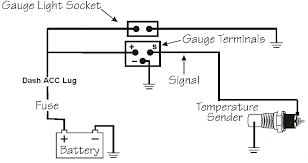 water temperature gauge installation guidagay info water temperature gauge installation ford temperature gauge wiring diagram wiring diagram co wiring diagram for water
