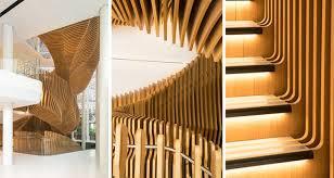 banq office da. ora ito designs halfsnake staircase for lvmh media section in paris banq office da