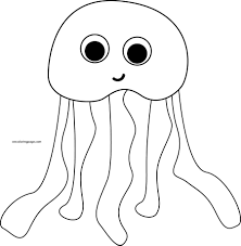 Small Picture Jellyfish Coloring Pages Wecoloringpage
