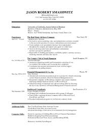Executive Resume Template Simple Resume Template Word Bino 9terrains