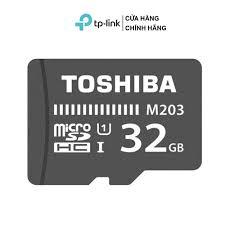 Thẻ nhớ Micro SD Card Toshiba 32GB sử dụng cho camera, máy quay phim  ChopperGaming