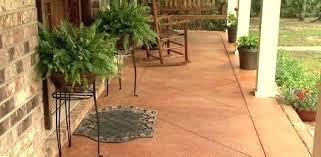 Quikrete Concrete Stain Colors Chart Quikrete Translucent Concrete Stain Concrete Porch Stained
