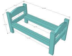 wooden doll bed plans wooden global