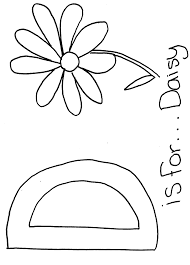 Small Picture Letter D Alphabet coloring page