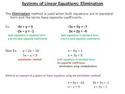 2 systems of linear