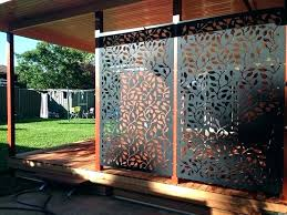 winsome design outdoor privacy screens metal decorative screen panels popular free standing fence crafty