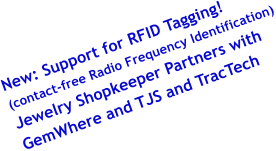 contact free radio frequency identification jewelry home