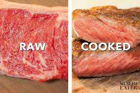 eating raw steak. Exellent Raw Rare_meat_raw_vs_cooked U201c For Eating Raw Steak