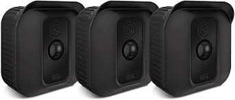 Fintie <b>Silicone Skin for</b> Blink XT Camera - [3 Pack] Soft Silicone UV ...