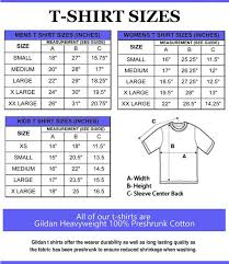 Size Chart Do Not Purchase