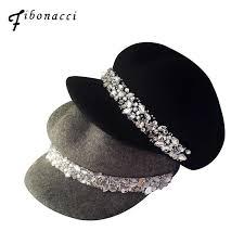 <b>Fibonacci</b> Fedoras <b>High Quality Fashion</b> Wool Felt Octagonal Solid ...