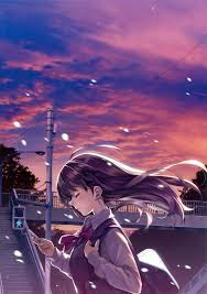 Anime Girl Alone in Dark (Page 1 ...