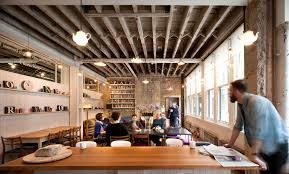 warehouse office design. Donmar Dryden Street / Haworth Tompkins. Image © Philip Vile Warehouse Office Design F