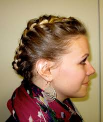 The Weekend Hair Style bye bye beehive a hairstyle blog halo braid 5637 by wearticles.com