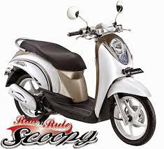 gambar sepeda motor scoopy terbaru terbaik