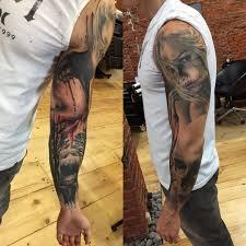 Blood Lips Girls Realistic Tattoo Sleeve Best Tattoo Ideas Gallery