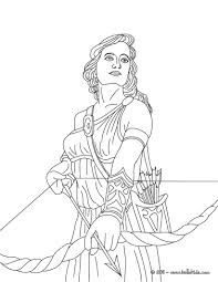 Coloring pages for greek mythology (gods and goddesses) ➜ tons of free drawings to color. Coloring Pages Of Goddesses For Free Artemis The Greek Goddess Of Hunting Coloring Page Greek Gods And Goddesses Coloring Pages Greek Gods