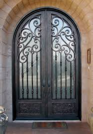 exterior iron doors sale. get quotations · finished wrought iron doors modern entry for rot-019 exterior glass sale s