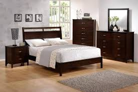 crown mark b7300 7350 1ian brown finish solid wood king size bedroom set 3pcs