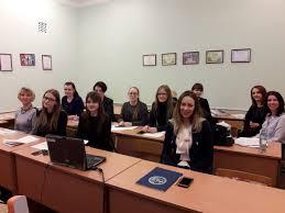 В ГГУ имени Ф Скорины впервые состоялись защиты магистерских  Преподавание ряда курсов на английском языке как для иностранных так и для белорусских студентов ведется уже несколько лет рассказал декан факультета