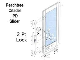 peachtree door sliding door removal designs peachtree citadel door parts