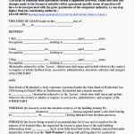 Standard Commercial Lease Agreement Standard Commercial Lease Agreement Elegant Free Mercial Lease