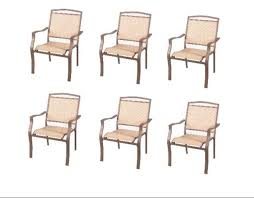 mainstays sand dune dining chairs set