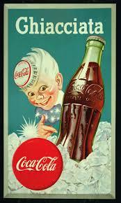 Coca-cola old, in Italy (Ghiacciata is Frozen)