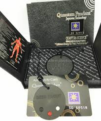 china quantum pendant with box package oem logo china necklace glass bio energy pendant
