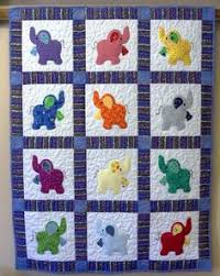 14 Easy Baby Quilt Patterns for Boys and Girls | Easy baby quilt ... & Image detail for -Elephant Treasures handmade quilt by Serenstitches on Etsy Adamdwight.com