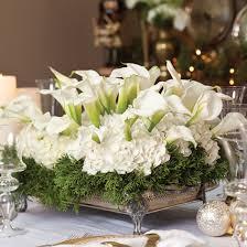 Image Christmas Wreaths Totally Adorable White Christmas Floral Centerpieces Ideas 11 Round Decor 46 Totally Adorable White Christmas Floral Centerpieces Ideas