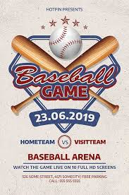 Free Baseball Flyer Template Download The Baseball League Game Flyer Template Psd Ffflyer