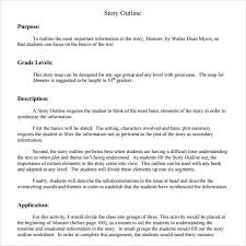 Story Outline Template Online Free 9 Story Outline Samples In Pdf Word