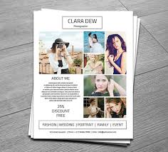 Photography Flyer Template Marketing Template For Photographer