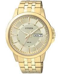 citizen watches macy s citizen men s gold tone stainless bracelet watch 41mm bf2013 56p