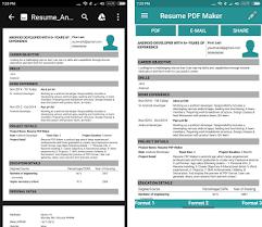 Resume Pdf Maker Cv Builder Apk Download Latest Version 1 8 Com