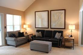 Two Color Living Room Walls Living Room Wall Colours Cozy Dark Fabric Sectional Sofa Grey