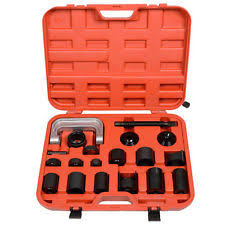 ball joint press tool. 21pc c press truck car ball joint nice deluxe service kit remover installer ball joint press tool