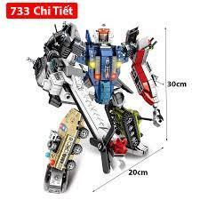 Đồ chơi lắp ráp kiểu Lego lego robot Marvel Chiến Binh Vũ Trụ Với 733 Chi  tiết nhựa ABS Cao cấp | Xếp khối