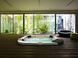 Bathroom:Smart Ways To Place Your Original Jacuzzi Design For Your Homes  Modern In Floor