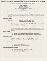 Gallery Of Free Teaching Resume Templates