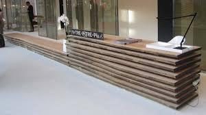 subway home office. Home Design : Modern Industrial Reception Desk Subway Tile Office For Motivate E
