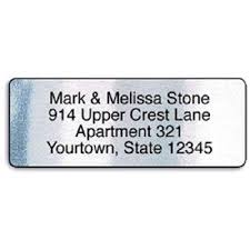 silver address label silver foil rolled address labels with elegant dispenser current