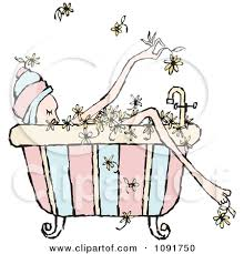 shower tub clipart. Clipart Of Woman Relaxing - ClipartFox Shower Tub N